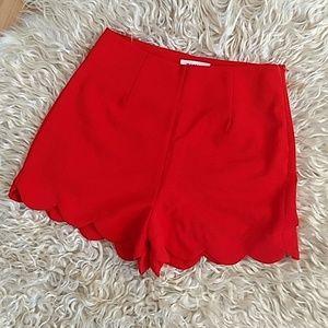 Monteau high waisted short shorts
